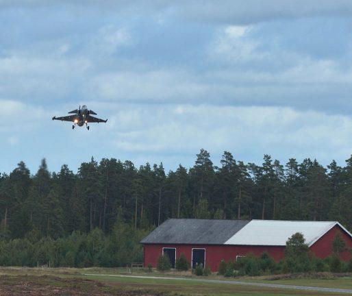 Flygbasen engageras i stor militärövning