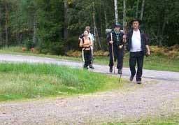 Ekovandrare passerar kommunen