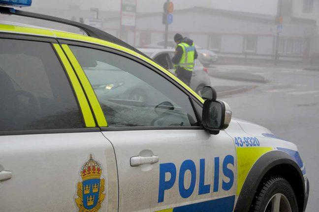 Bil med körförbud fastnade i kontroll