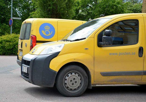 Postens gula bilar försvinner
