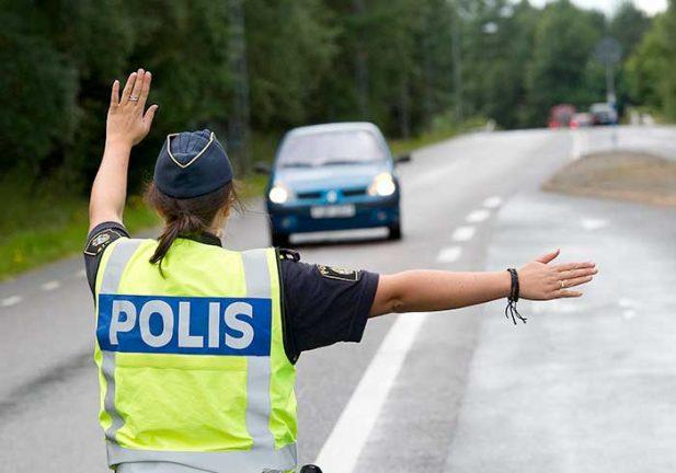 Polisnotiser från Värnamo