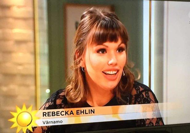 Rebecka skrapade miljonvinst i TV