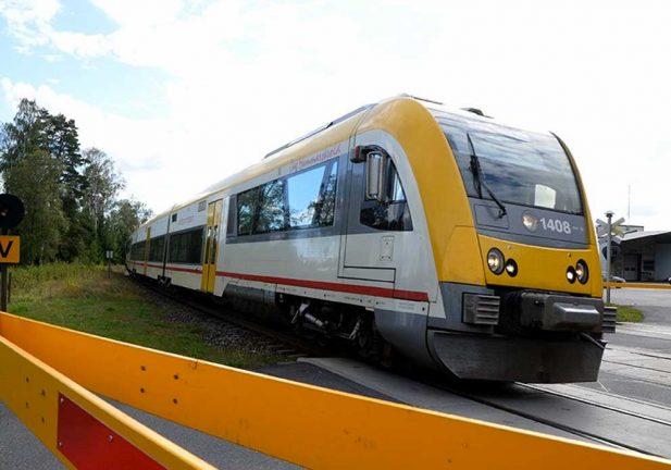 Tågtrafikens punktlighet blev sämre 2018
