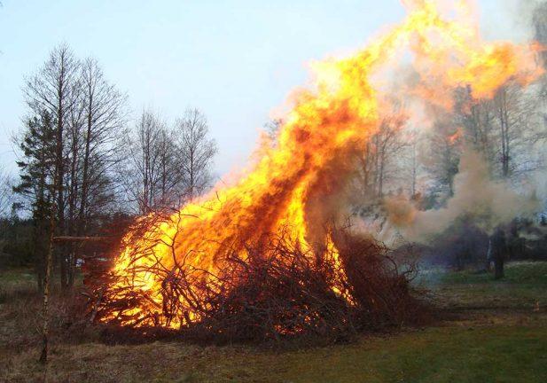 Eldningsförbudet kvarstår