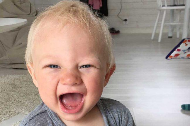 Valter Johansson 1 år