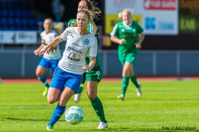 IFK dam tog poäng i Nittorp