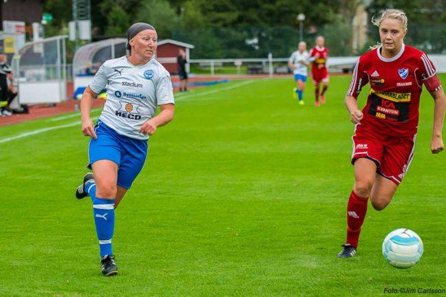 Linda Persson i målform när IFK vann
