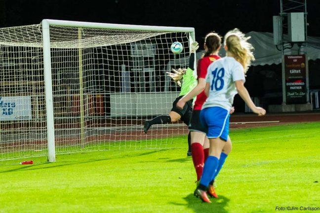IFK-damerna vann över Nittorp