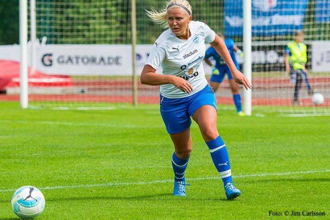Stark insats av IFK-damerna