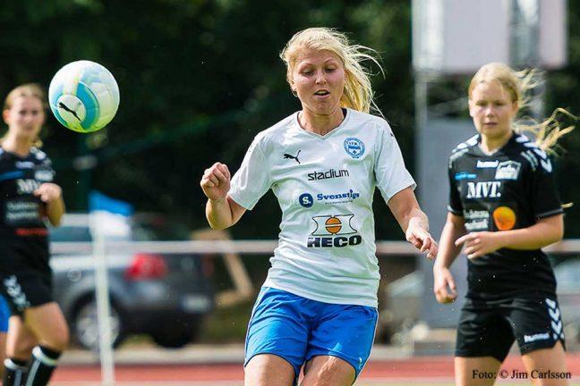 IFK-tjejerna ångar på