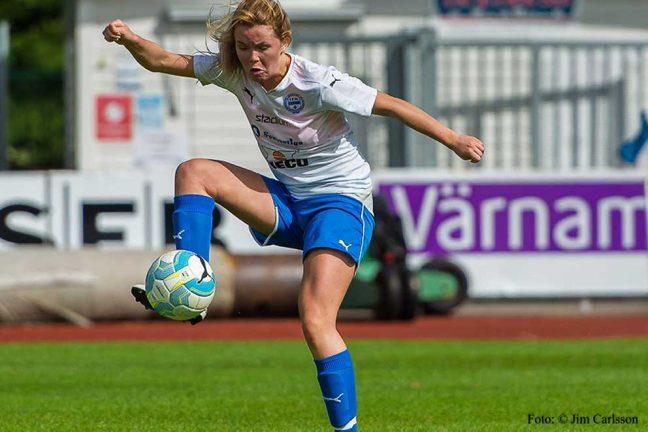 Bra match av IFK dam U trots förlust