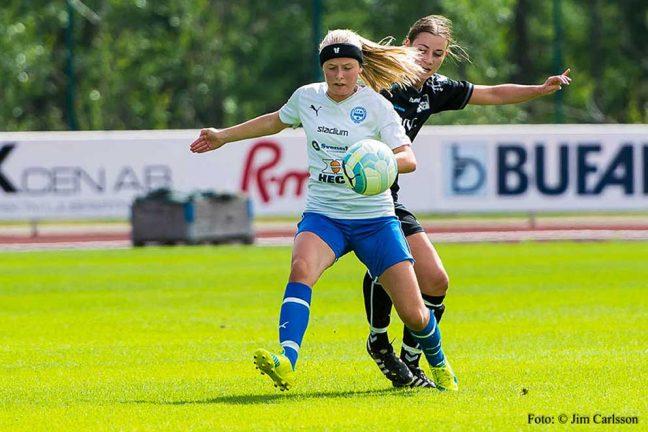 Två IFK-tjejer skadade
