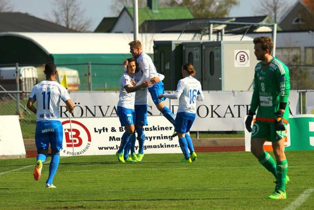 Direkt, IFK–GAIS, slut: 1–1
