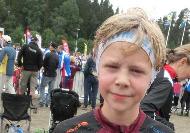 Axel tog brons på skid-GM