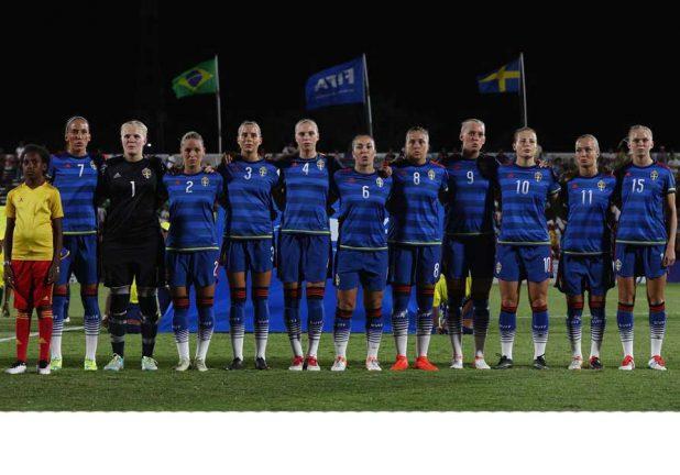 Färdigspelat för Anna och Sverige i VM