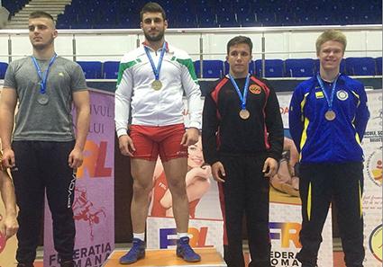 Elias tog brons i Bukarest