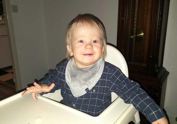 Charlie Bäck 1 år