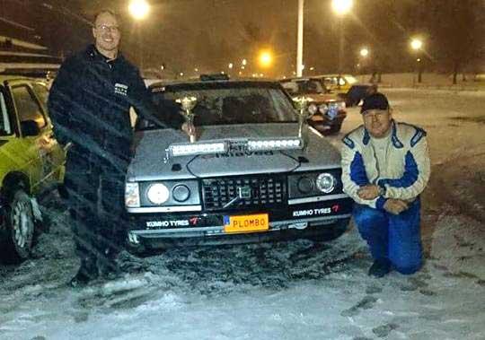 David Lindström vann rallycup