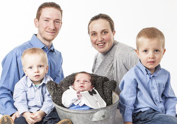 Nyfödd i Smålandsstenar Jacob