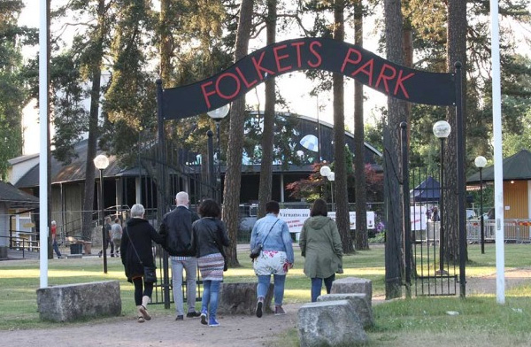 Stormöte om Folkets Park