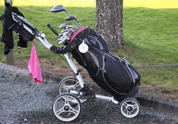 Jonathan och Felix vann golfresa