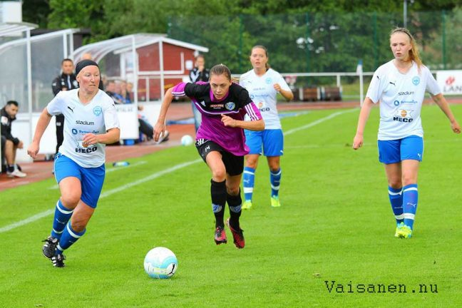 Snöpligt slut för IFK-dam