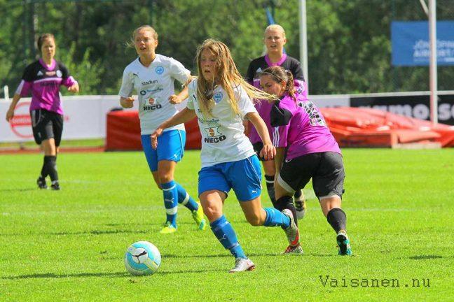 Direkt, IFK dam-Mariebo, slut: 1–4