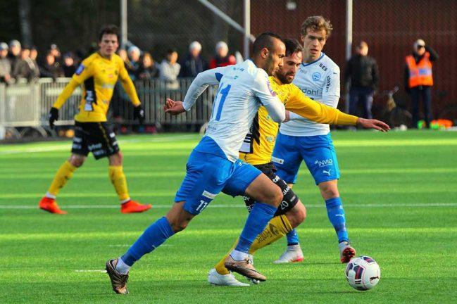 Närmast en skräll av IFK mot Elfsborg