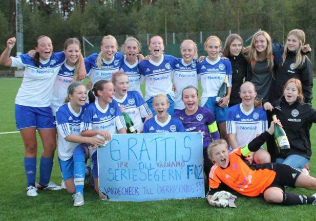 IFK F02 är seriesegrare