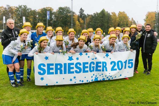 IFK-dam klart för div 1