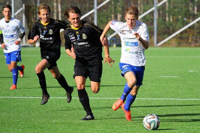 IFK U17 vann med 2–1