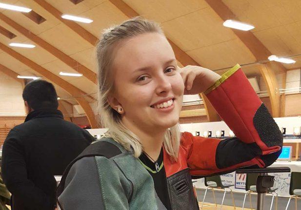 Tävlade i Danmark