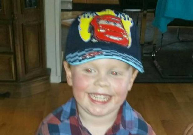 Justin Mattsson 4 år