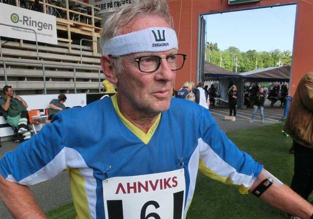 Lars-Åke ende sprintmästaren