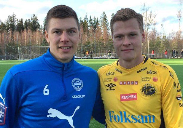 TV: Bröderna Claesson matchen