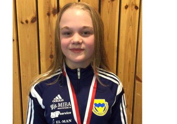 Nora Svensson tog guld