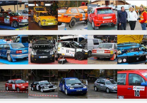 36 bilder från rallyfinalen
