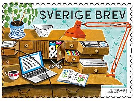 Nostalgi med nya frimärken