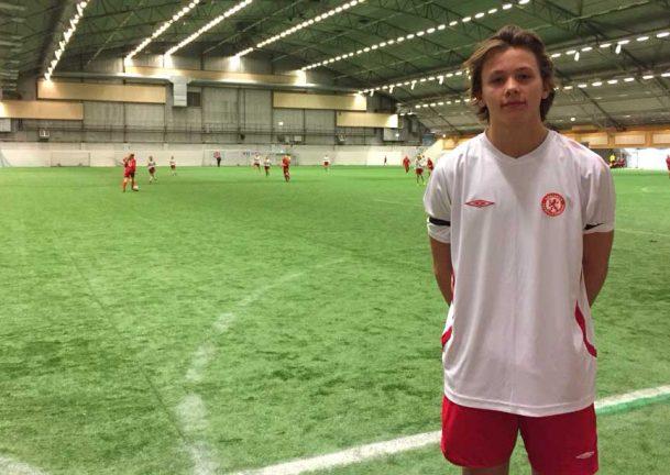 Ruben från SIS debuterade i Smålandslaget
