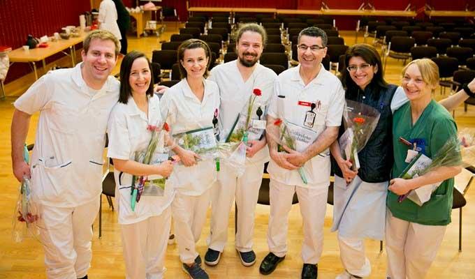 Färdiga specialistläkare firades i Värnamo