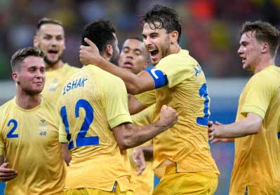 Svenskt 2–2 mot Colombia