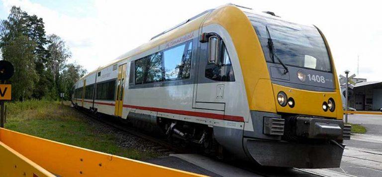 Signalfel medför tågförseningar