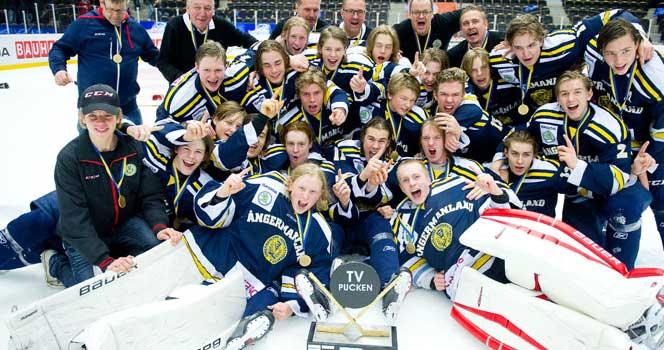 Ångermanland vann TV-pucken