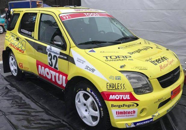 Rally-SM sprint
