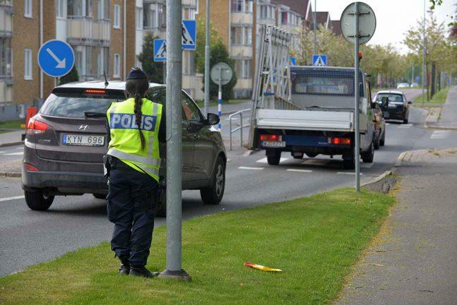 Polisen stoppade många förare
