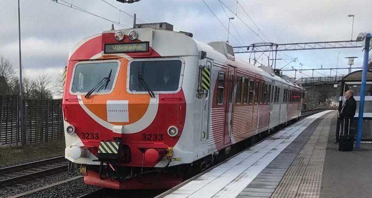 Brand – stopp i tågtrafiken