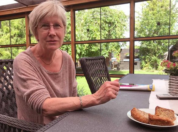 """Ann-Charlott """"Lotta"""" Eriksson 65 år"""