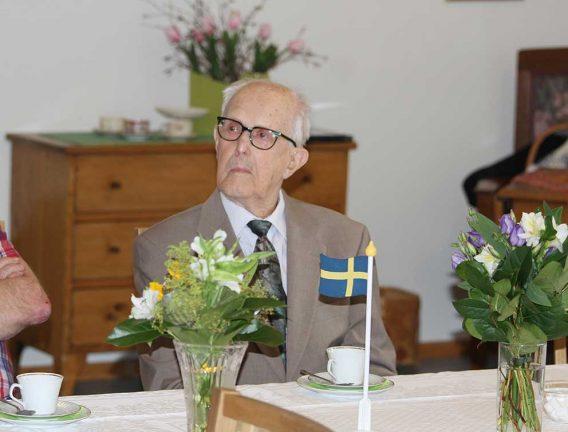 Nils Svensson 100 år – tv-inslag
