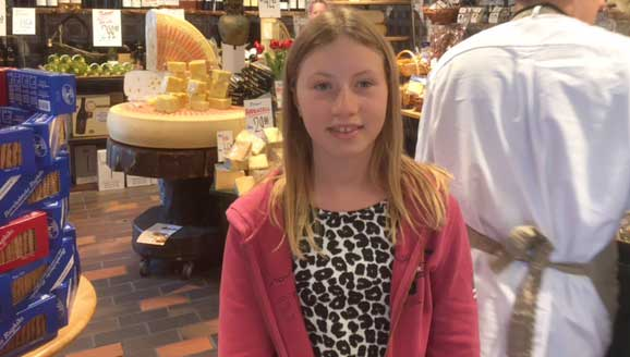 Tindra Johansson 12 år