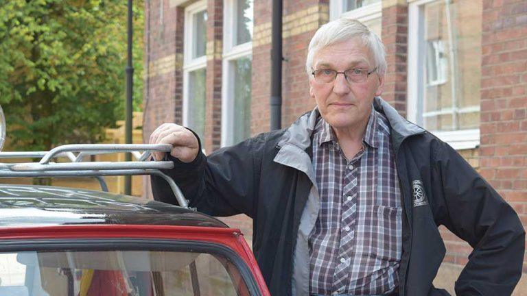 PV blev Ewalds första bil